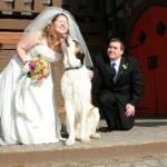 louise & bride